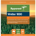 Wetter 1000 20ltr Apparent