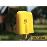 Post Cap Yellow Waratah with tail EA
