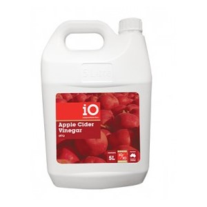 iO Apple Cider Vinegar 4% 5ltr (No Garlic)