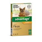Advantage For Kittens and Sm Cats Up to 4 Kg Pkt 4