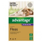 Advantage For Cats Over 4kg Pkt 4