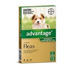 Advantage For Puppies & Small Dogs Up to 4 Kg Pkt 6