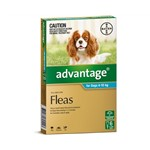 Advantage For Dogs 4-10kg Pkt 6
