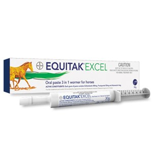 Equitak Excel 30g 3 in 1 Wormer For Horses