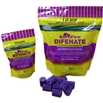 DIFENATE Surefire Rat/Mice Blocks Purple150g