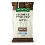 Oakwood Leather & Synthetic Wipes 20pk
