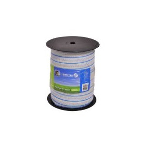 Poly Tape Blue/White 40mm 200m