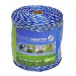 Poly Wire Blue/White MIX6 400m
