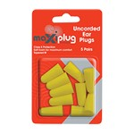 Maxisafe Uncorded Earplug Blister of 5 Techware