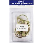 Bare essentials Linch Pins B6 6pk Bare Co