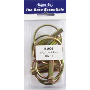 Bare essentials Linch Pins B3 6pk Bare Co