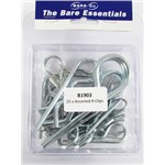 Bare essentials Assorted R clips x25 Bare Co