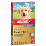 Advantix Dog Over 25kg 3pk