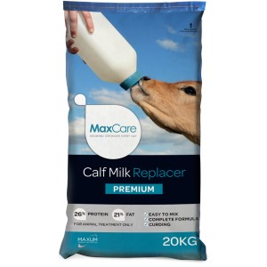 Maxcare Premium Calf Milk Replacer 20 Kg With Probiotic & Bovatec