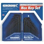 Hex Key Set 30Pc Set Kincrome