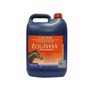 Equimax Liquid All Wormer 5L Sort Dated Nov 18