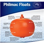 "Float CW 9"" (225) Orange Philmac"