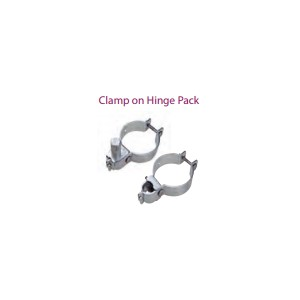 Farm Gate Pack Clamp on 80NB Post 25nb Gate Packaged