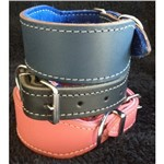 Whippet Leather Collar LG40 40cm All Colours