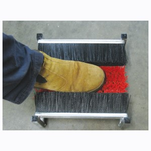 Boot Cleaner Triple Brush