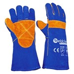Gloves-Welding Promax Blue 400mm - Standard Pair