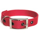 Goat Collar Nylon Doe Red
