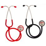 Stethoscope Dual Head Black Shoof