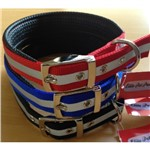 Nylon Padded Collar Reflective 55cm All Colours