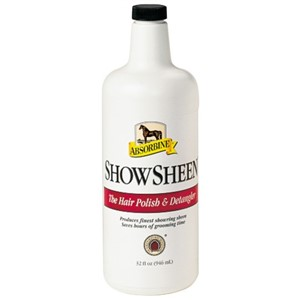 Absorbine Showsheen Hair Polish & Detangler - 3.8L