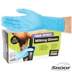 Milking Gloves Thick Nitrile Large/50