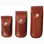 Knife Pouch Leather Moulded 10cm