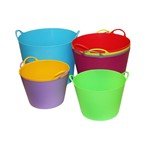 Tub Plastic FLEXI 15ltr Bainbridge